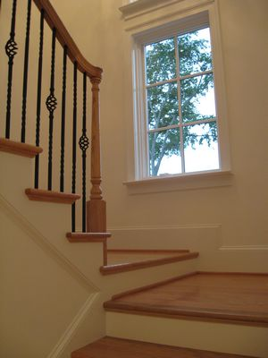 Stairwell entrance
